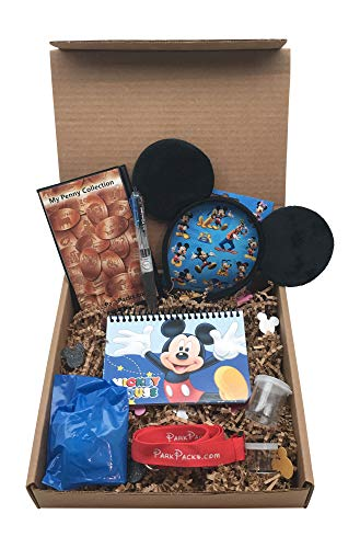 Mickey Disney Vacation Set Mouse Ears Headband Official Autograph Book & Pen (Disney Penny Collection Book)