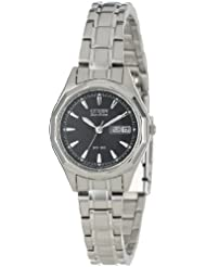Citizen Womens EW3140-51E Eco-Drive Stainless Steel Sport Watch