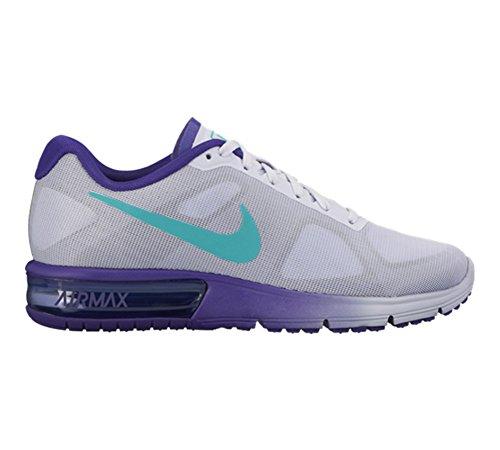Nike Womens Air Max Sequent Scarpa Da Corsa # 719916-504 (7.5)