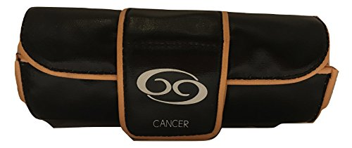 Inspiration Star Sign Black Accessory Cosmetic Case - Cancer