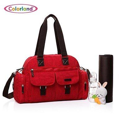 WD bolso de múltiples funciones bolso grande momia momia mochila para llevar al bebé mochila al aire libre del colorland®women , Dark Pink: Amazon.es: ...