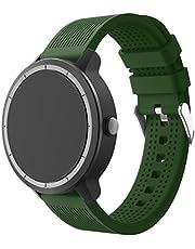 SUPORE Compatible Garmin Vivoactive 3 Strap, Adjustable Soft Silicone Replacement Wrist Watch Strap for Garmin Vivoactive 3 Fitness Watch