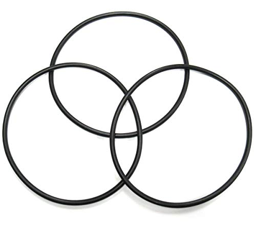 Captain O-Ring LLC - Replacement for Pentek, Pentair 357255 Lid O-Ring - Pool and Spa Pump ORing (3 Pack)