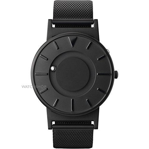 EONE Bradley Black Mesh Bracelet Tectile Modern Watch