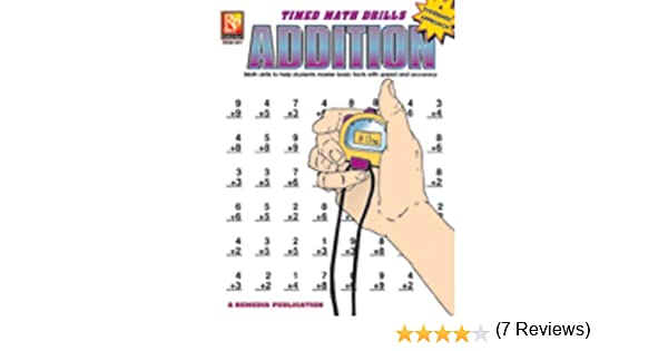 Timed Math Facts Addition Book: Remedia Publications ...
