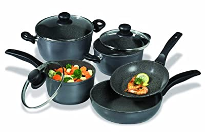 Stoneline 8-piece Stone Tough Non-stick Cookware Set