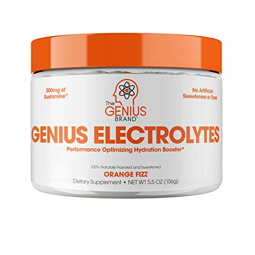 Genius Electrolyte Powder – Natural Hydration Booster | Endurance Supplement with Electrolytes (Potassium, Magnesium…