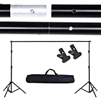 AW 10Ft Adjustable Photo Backdrop Photo Vedio Studio Backdrop Support Stand Crossbar KitPortrait Shooting