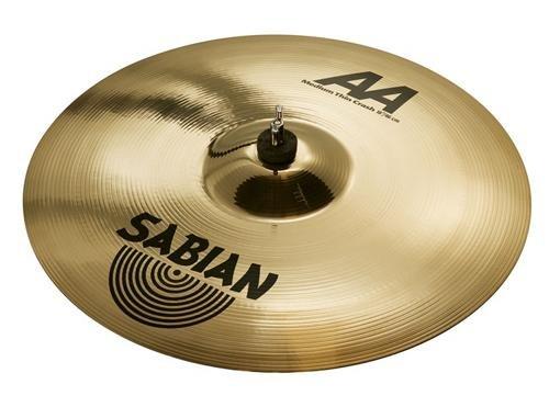Sabian 18 Inch AA Medium-Thin Crash Cymbal Brilliant Finish