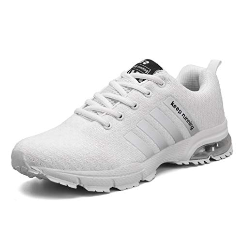 Sportive Sportive 87bianco da da Uomo Sneakers Bravover Scarpe Ginnastica Sneakers Basse Corsa Fitness Running Scarpe Corsa PwqwAUzZ