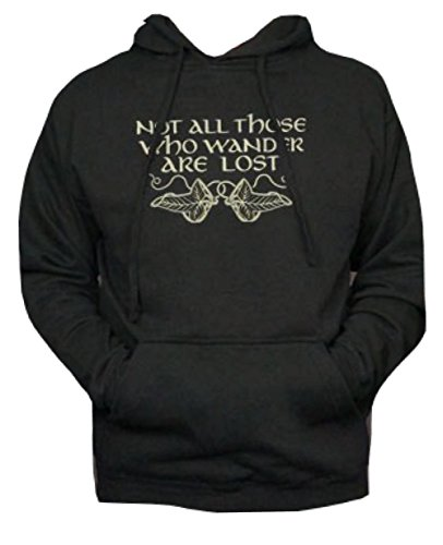 Not All Those Who Wander Are Lost Hoodie-Funny Pullover Hooded Sweatshirt-XXXL