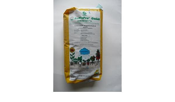 Magnesio cal dolokorn senapro/jardín abono/granulado/20 kg neto: Amazon.es: Hogar