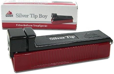 Gizeh Silver Tip Boy - Máquina para cigarros