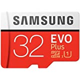 Samsung EVO Plus 32GB 100/MB/s Micro SDXC Memory Card with Adapter up to (MB-MC64GA)