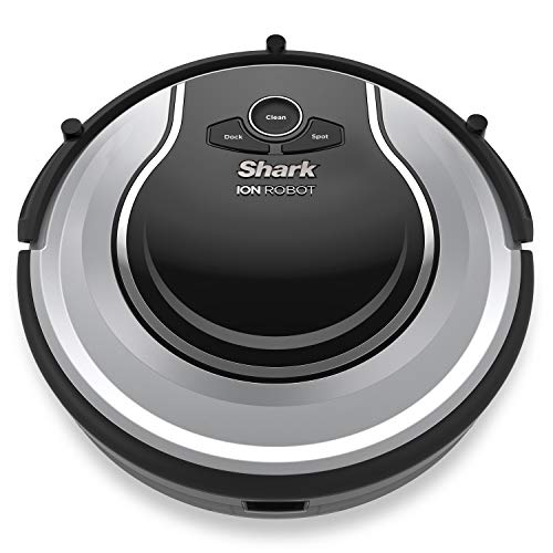 Shark ION ROBOT Self-cleaning Vacuum with Smart Sensor Navigation for Surface Floors & Thin Carpets and Easy Scheduling Remote (Renewed) (RV700)