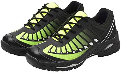 安全作業靴、 スチールトゥキャップアンチスマッシング穿刺防止用保護シューズ 建設用滑り止めブーツ、 男性と女性のための軽量通気性カジュアルシューズ(35-46)