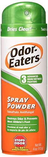 Odor-Eaters Foot Spray Powder, 5.3 oz, Pack of 2