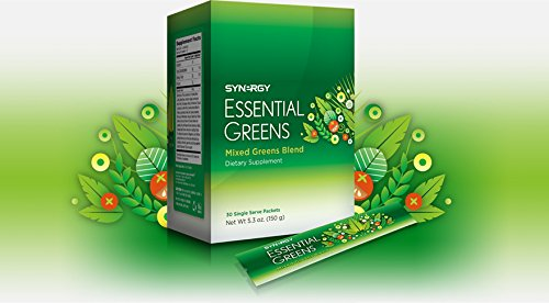 30 Single Serve Packets - Essential Greens 30 single serve packets 5.3oz