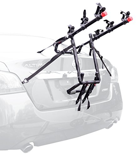 Allen Sports Deluxe Trunk Mount 3-Bike Carrier - Mount Rack 3 Bike Carrier