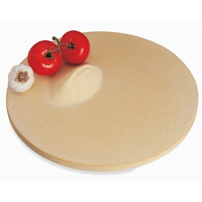 "Pizza Stone by CucinaPro - Professional Grade3/4"" Thick, 16.5"" Porous Round Stone for Oven or Grill"