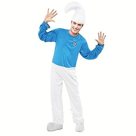 Disfraz Duende Azul para Hombre (M): Amazon.es: Juguetes y juegos