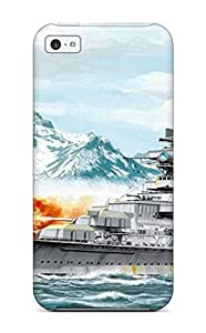 Iphone 5c Hard Back With Bumper Silicone Gel Tpu Case Cover Ship Military Man Made Military