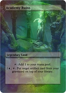 Academy Ruins - Casual Play Only - Customs Altered Art Foil