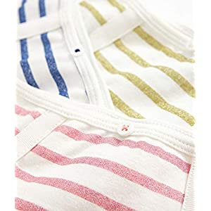 Petit Bateau Girl's Knickers (Pack of 3)