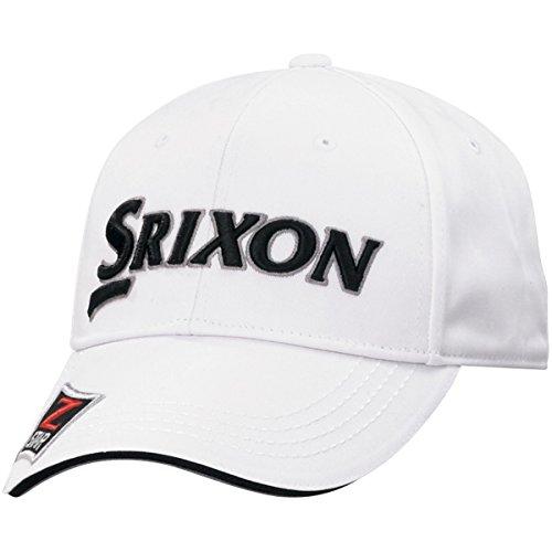 DUNLOP(ダンロップ) SRIXON キャップ BIG サイズ メンズ SMH7130XB ホワイトブラック