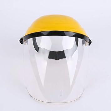 Casco de soldadura, máscara protectora resistente al calor, protección de electrosoldadura, protección facial y visor de seguridad transparente máscara de ...