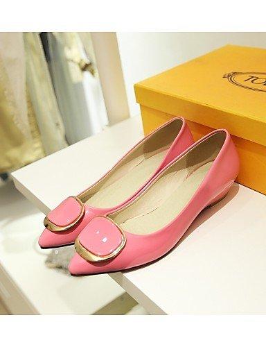 y negro aire libre de blanco pink oficina eu42 punta us10 casual Pisos rosa bajo mujer Toe Beige tacón piel al uk8 PDX carrera de cn43 sintética 5 zapatos 5 7OxZUZ