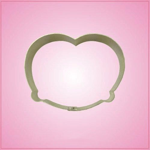 (Pretzel Cookie Cutter 3 inches by 3-3/4 inches)