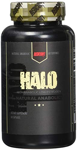 - Redcon1 Halo 60 Capsules, Build Muscle Fast, Laxogenin, Lean Gains, Increase Strength