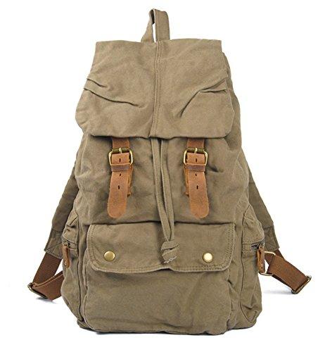 Keral - Bolso mochila de Lona para mujer - Armee-Grün - Armee-Grün