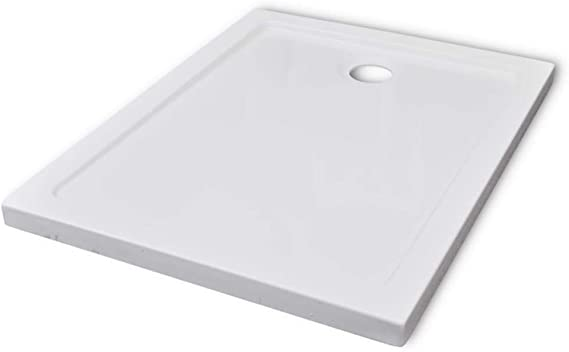 vidaXL Bandeja Rectangular Base De Ducha ABS 70 x 90 cm: Amazon.es ...