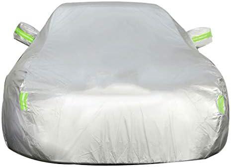 フォードExploror車のカバーと互換性がありますSUVオックスフォード布日焼け防止防雨暖かい車のカバー (Color : Silver, Size : Built-in lint)