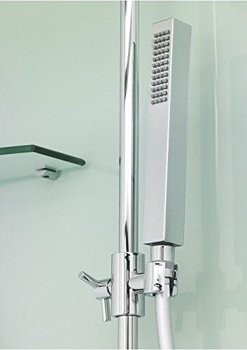 Cabina de ducha Kinedo – cuadrada Eden 80,5 cm x 80,5 cm – puerta ...