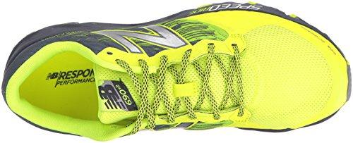New Balance Heren Mt690v2 Responsieve Trail Loopschoen Geel
