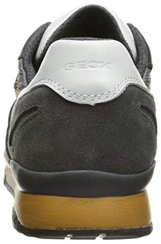 Sandford para Geox Zapatillas Gris U Charcoal Hombre a B ABX Grey BYF5PqFw