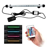 buy COVOART LED Aquarium Light, 15inch Fish Tank Light RGB Color Underwater Light Submersible Crystal Glass Lights now, new 2020-2019 bestseller, review and Photo, best price $15.88