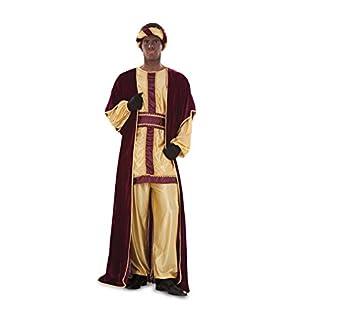 Disfraz o traje de Rey Mago Baltasar de hombre talla ML