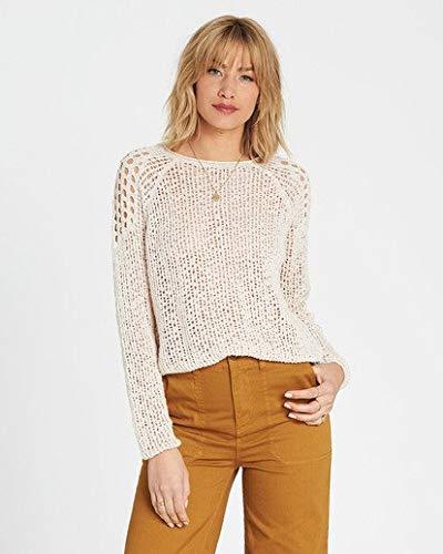 (Billabong Women's Sea Ya Soon Sweater, White Cap, M)