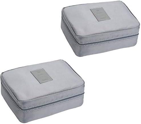 化粧品メイクアップトイレタリーシェービングツールのトラベルトイレタリーバッグ、複数のコンパートメントを持つ軽量耐久性のあるスタイリッシュな、防水パーソナライズ