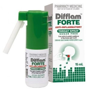 3 Pack Difflam Forte Anti-inflammatory Throat Spray -Fast Relief by Difflam Forte