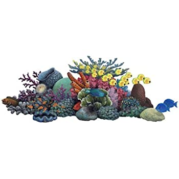 Walls of the Wild 31508 Coral Reef Wall Decal Sticker Wall Mural  sc 1 st  Amazon.com & Amazon.com: Walls of the Wild 31508 Coral Reef Wall Decal Sticker ...