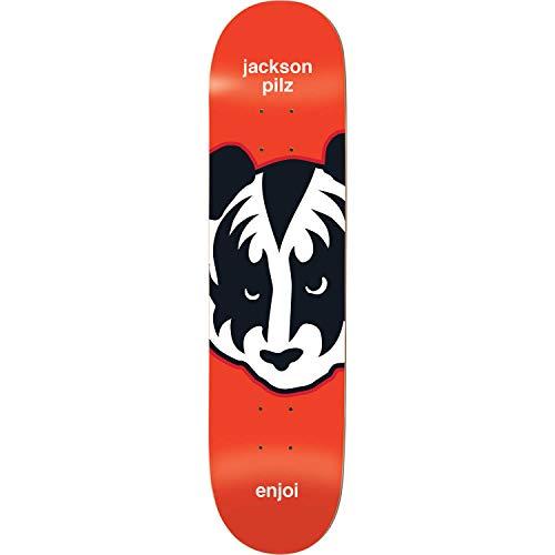 帳面ラジカル広告Enjoi Skateboards Jackson Pilz Kiss スケートボードデッキ 樹脂 7-8.25インチ x 32.1インチ