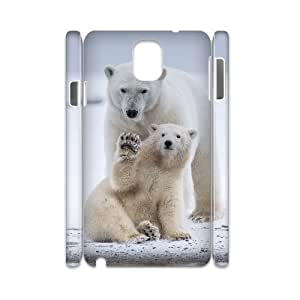 FLYBAI Polar Bear Phone 3D Case For Samsung Galaxy note 3 N9000 [Pattern-5]