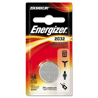 Eveready Battery Co. Inc - Watch/Calculator Battery, 3 Volt, Lithium (Ecr2032bp Watch)