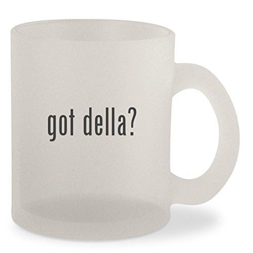 got della? - Frosted 10oz Glass Coffee Cup - Valpolicella Della Amarone