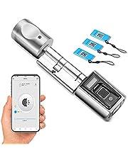 WE.LOCK SECBR elektronische deursluitcylder, biometrische vingerafdruk en afstandsbediening, bluetooth werken app